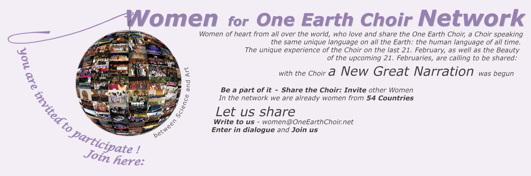 Women for One Earth Choir Network
